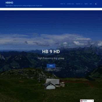 Hb9hd.ch thumbnail