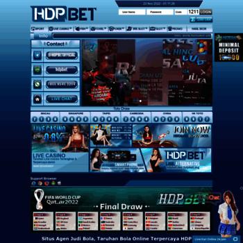 hdpbola com at WI  Hdpbet com Agen Judi Online, Bandar Judi