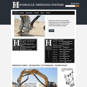 hdsbelgium com at WI  HYDRAULIC DREDGING SYSTEMS - Dredging