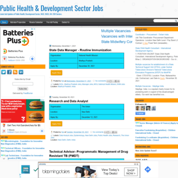 Hdsectorjobs.in thumbnail