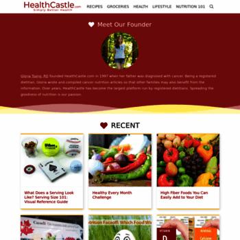 Healthcastle.com thumbnail