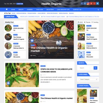 Healthorganic.net thumbnail