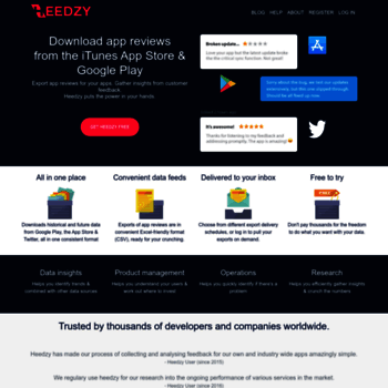 heedzy com at WI  Download app reviews from iTunes App Store