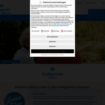 Heiligenfeld.de thumbnail