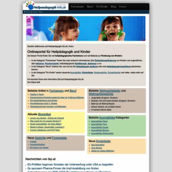 Heilpaedagogik-info.de thumbnail