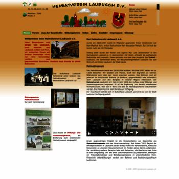 Heimatverein-laubusch.de thumbnail