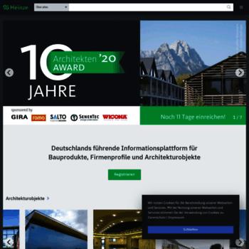 Heinze.de thumbnail