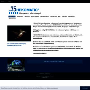 Hekomatic.de thumbnail