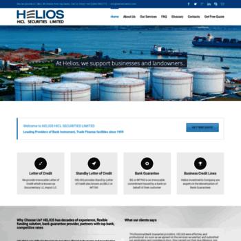 heliosinvestco com at WI  Bank Guarantee Providers, SBLC, MT760