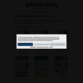 Hellerthaler-zeitung.de thumbnail