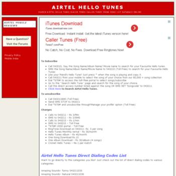Hellotunes.info thumbnail