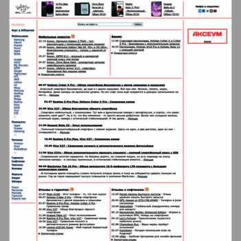 Веб сайт helpix.ru