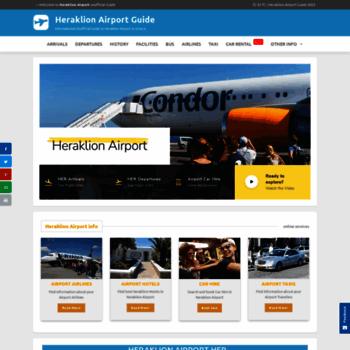 Heraklion-airport.info thumbnail