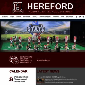 Herefordisd.net thumbnail