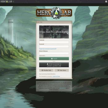 herolab online at WI  Hero Lab Online