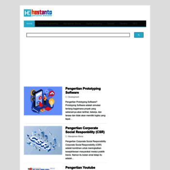 Hestanto.web.id thumbnail