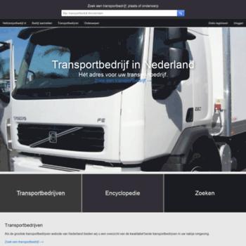 Hettransportbedrijf.nl thumbnail