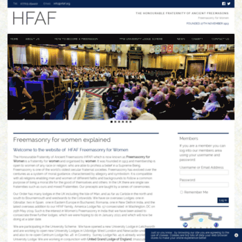 Hfaf.org thumbnail