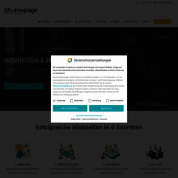 Hhomepage.ch thumbnail