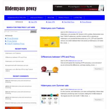 hidemyass-proxy com at WI  Hidemyass proxy