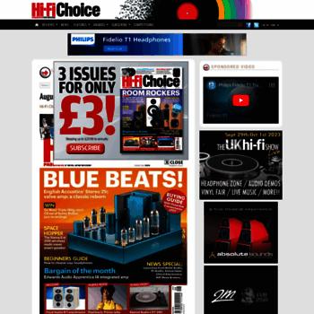 hifichoice co uk at WI  Hi-Fi Choice Magazine