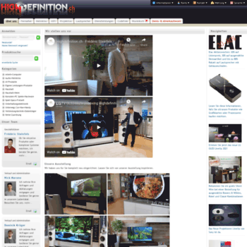 Highdefinition.ch thumbnail