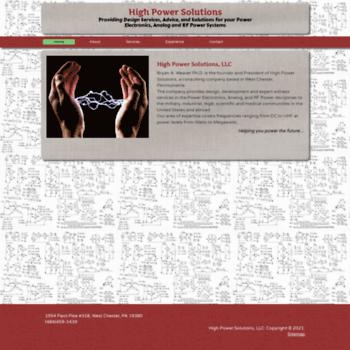 Highpowersolutions.biz thumbnail