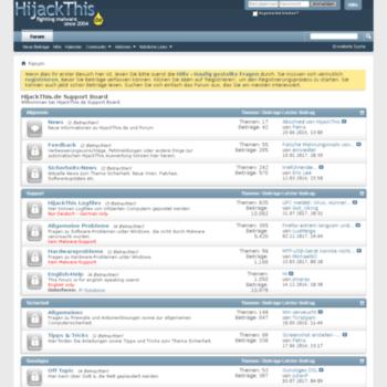 Hijackthis-forum.de thumbnail