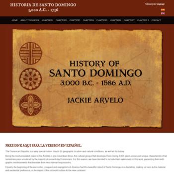 Historiadesantodomingo.com thumbnail