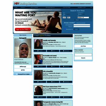 Online dating for HIV singler