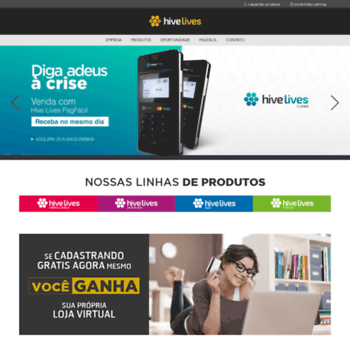 Hivelives.com.br thumbnail