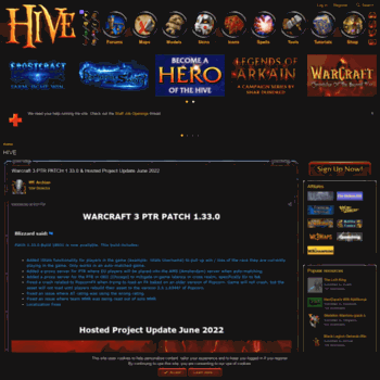 hiveworkshop com at Website Informer  HIVE  Visit HIVE Workshop