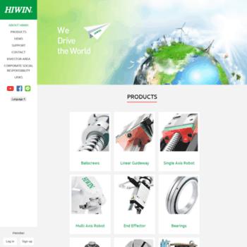 Hiwin.com.tw thumbnail