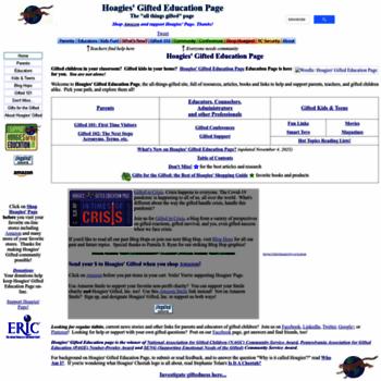 Hoagiesgifted.org thumbnail