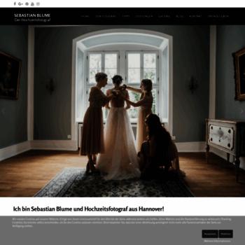 Hochzeitsfotografie-blume.de thumbnail