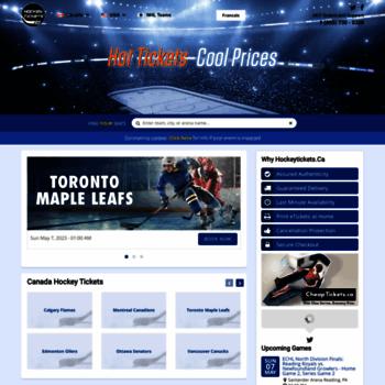 Hockeytickets.ca thumbnail