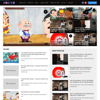 Hocvo.net thumbnail