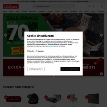 hoeffner.de at WI. Möbelhaus Höffner - Wo wohnen wenig kostet