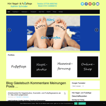 Hoeri-fusspflege.de thumbnail