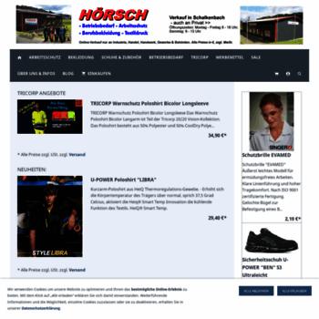 Hoersch-buerowelt.de thumbnail