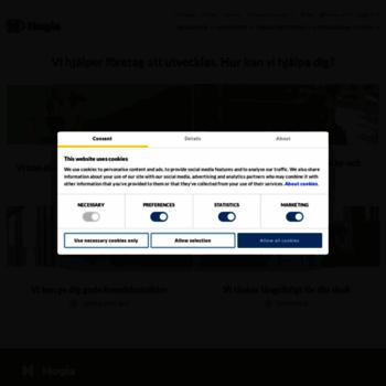 Hogia Se At Wi Hjalper Foretag Att Utvecklas Hogia