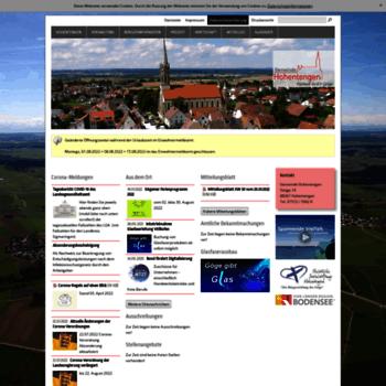 Hohentengen-online.de thumbnail