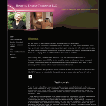 Holisticenergytherapies.net thumbnail