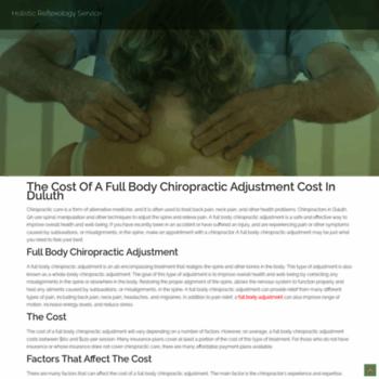 Holisticreflexologyservice.co.uk thumbnail