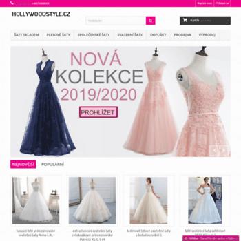 hollywoodstyle.cz at WI. plesové šaty 7fb85e72f2