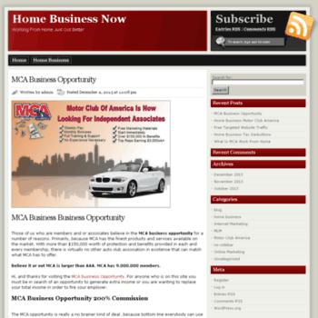 Homebusiness-now.net thumbnail
