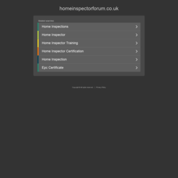 Homeinspectorforum.co.uk thumbnail