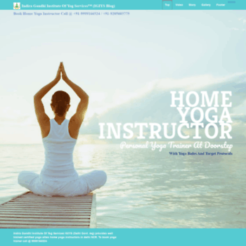Homeyogainstructor.in thumbnail