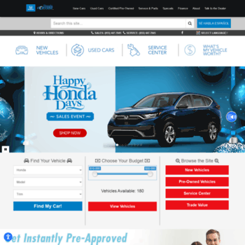 Honda Of Conyers >> Hondaofconyers Com At Wi Honda Conyers Conyers Ga Serving