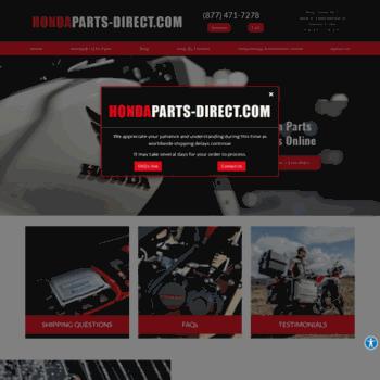 Honda Parts Direct >> Hondaparts Direct Com At Wi Home Honda Parts Direct